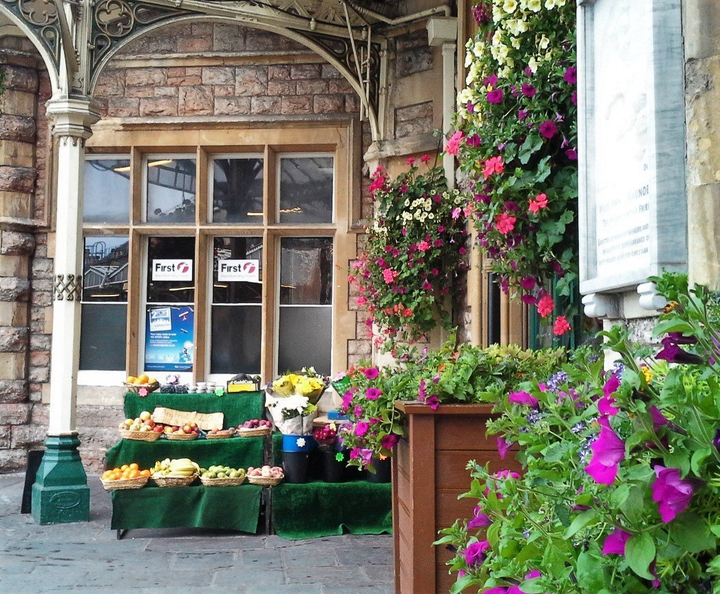 Fiori a Temple meads