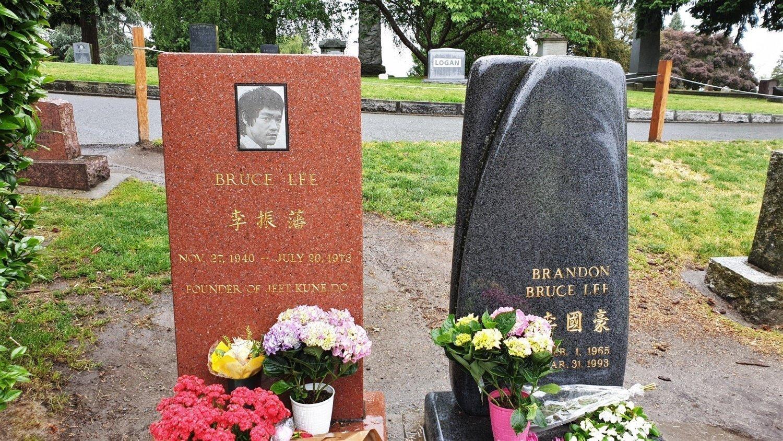 Tomba di Bruce Lee e Brandon Lee