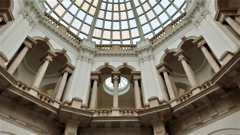 cupola entrata Tate Britain
