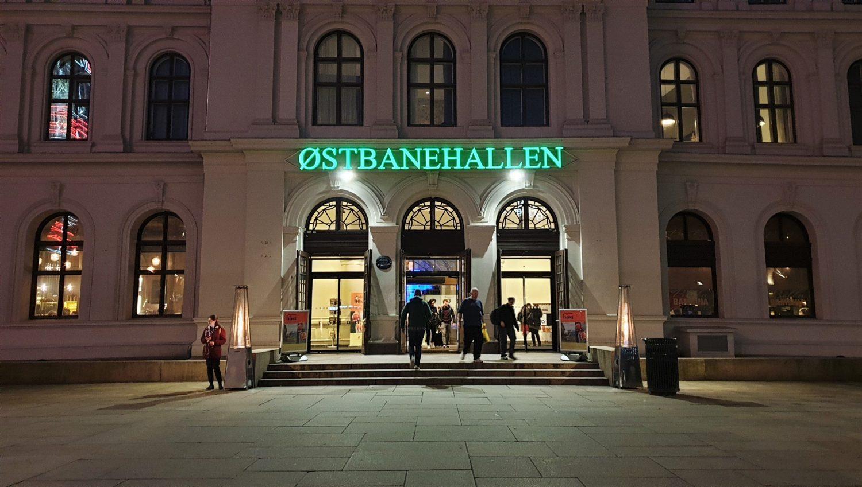Dove si trova Ostbanehallen