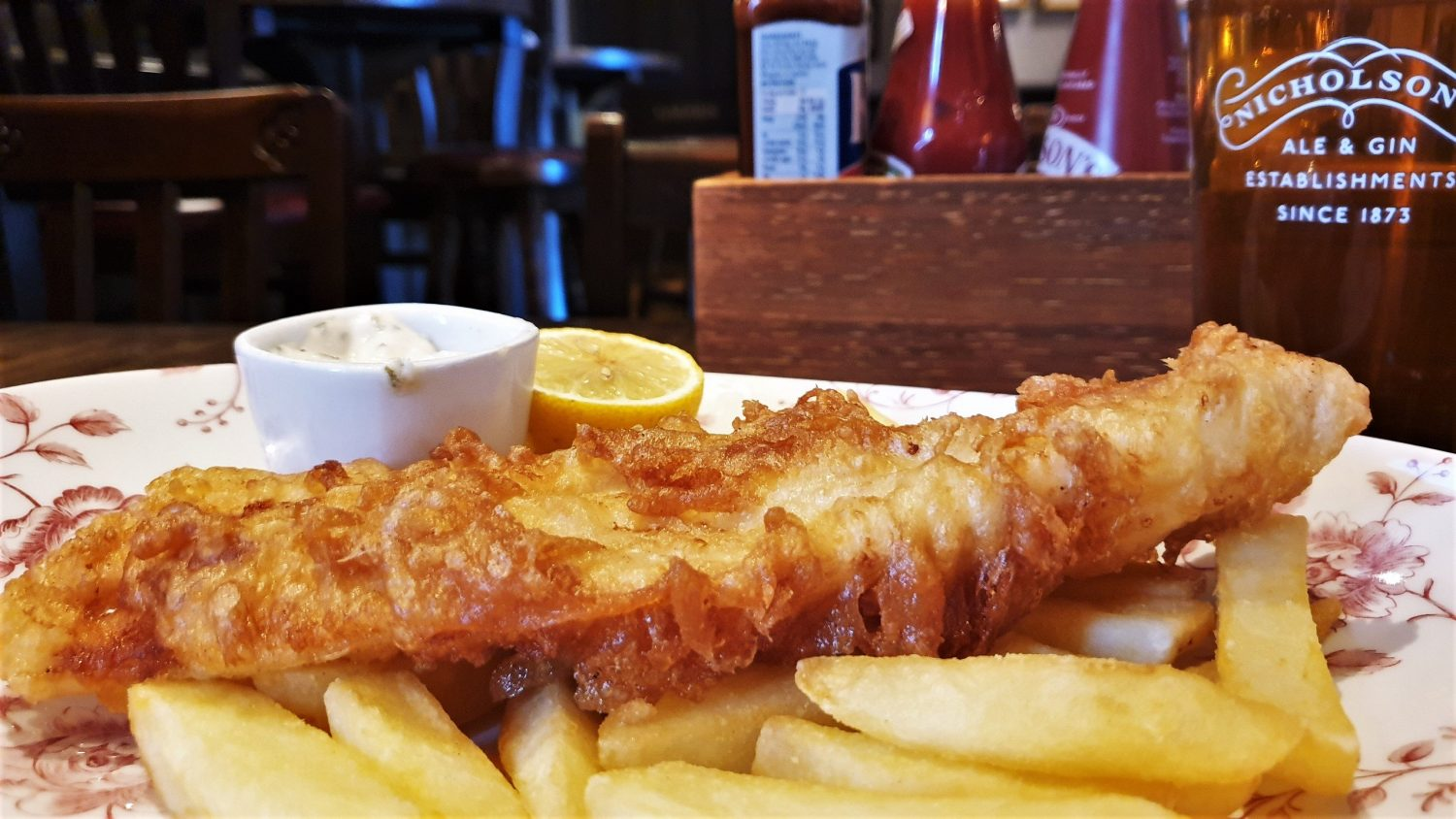 Fish and Chips al Conan Doyle