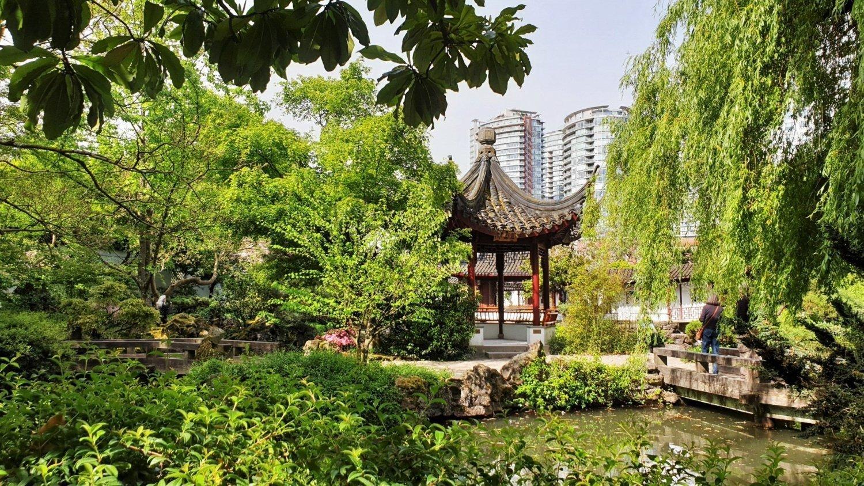 Il giardino cinese di Vancouver per me