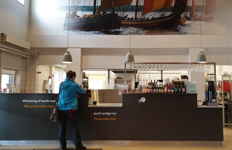 La caffetteria del museo vichingo di Roskilde_Café Knarr