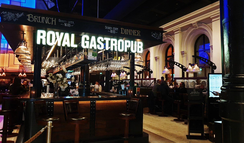 Mangiare al Royal Gastropub Oslo