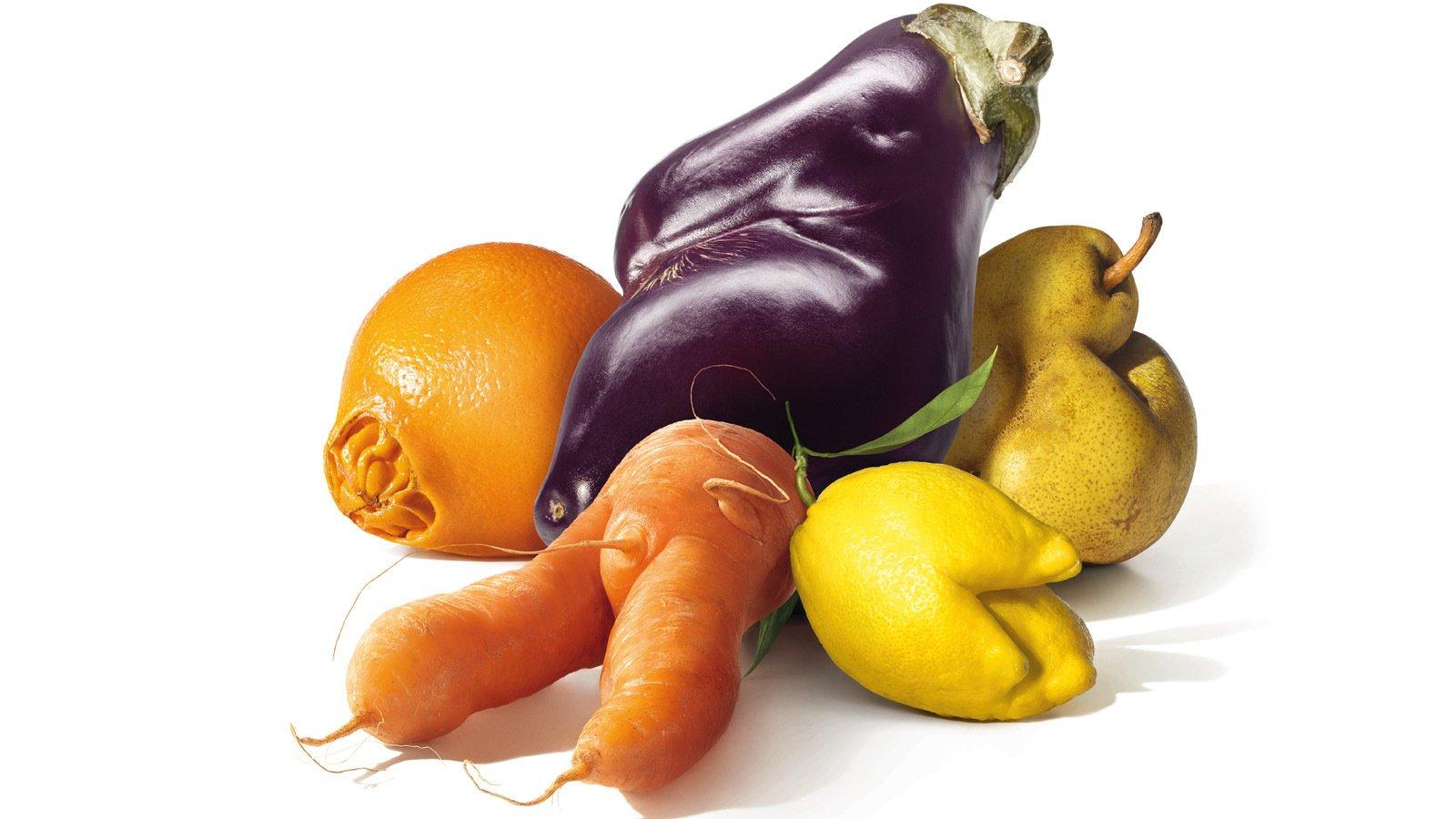 frutta e verdura imperfetta