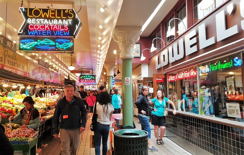 Cosa si può trovare al Pike Place Market Seattle
