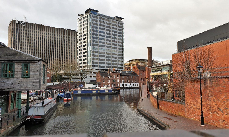 Cosa vedere a Birmingham I canali del Gas Street Basin