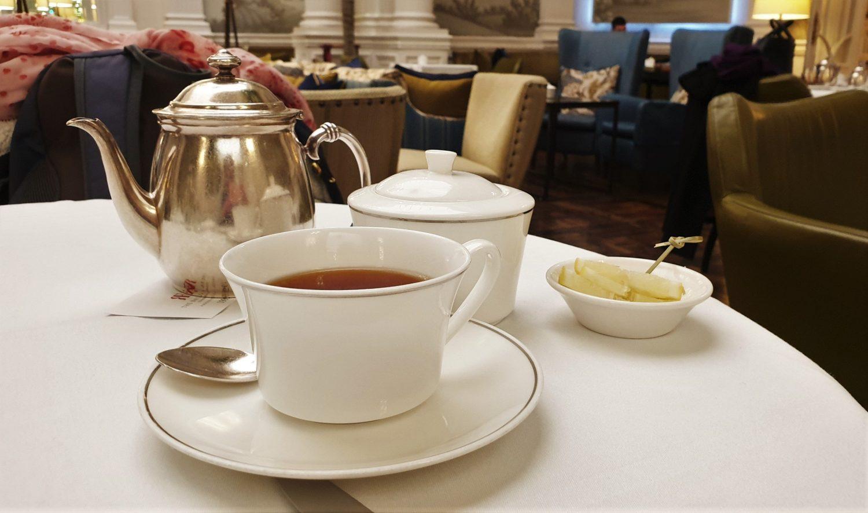Il tè al Balmoral per me