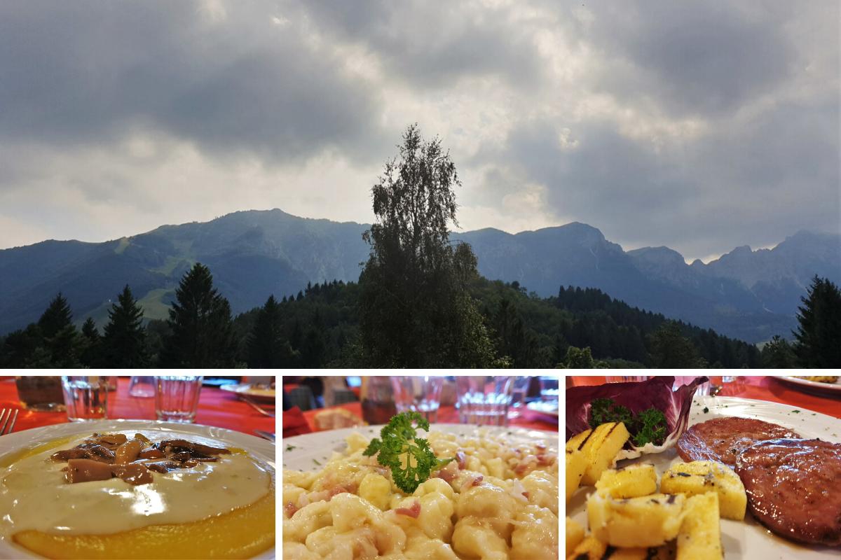 Pranzo allo Chalet Recoaro Mille Piccole Dolomiti