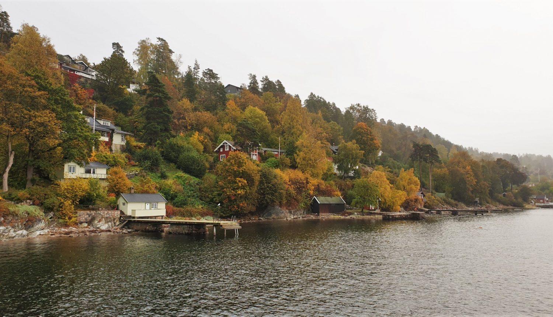Navigare nel fiordo di Oslo, per me