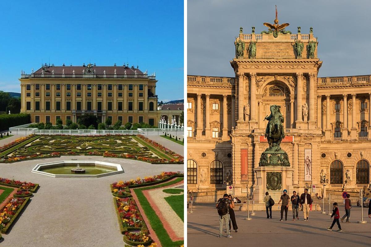 Vienna e i palazzi di Sissi
