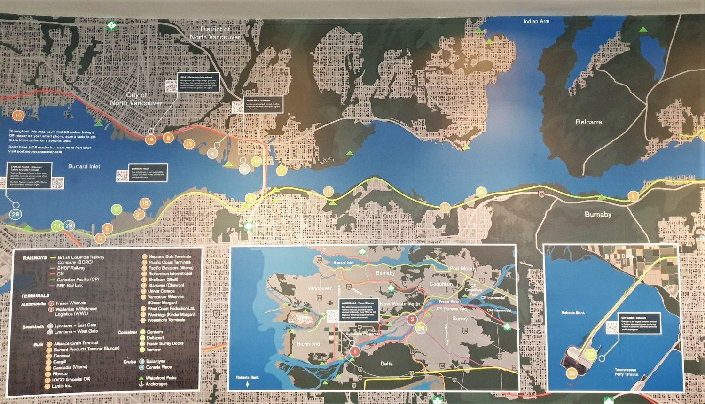 Cosa si può vedere da Vancouver Lookout