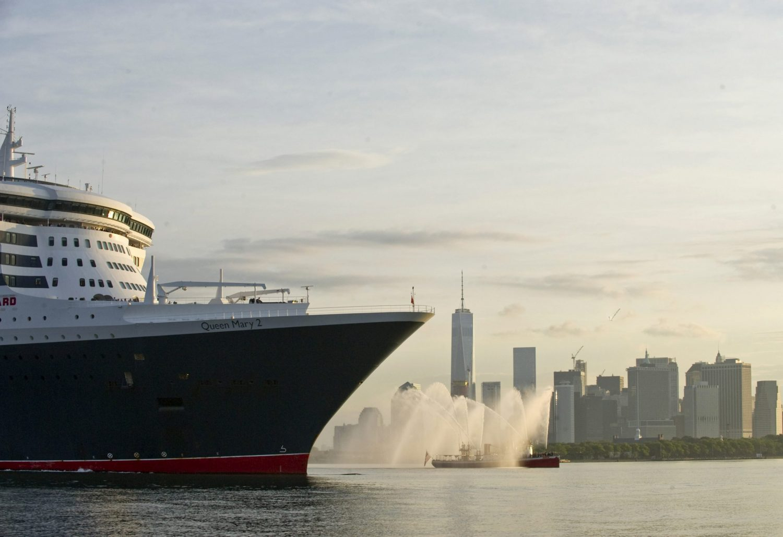 Il viaggio della Queen Mary 2
