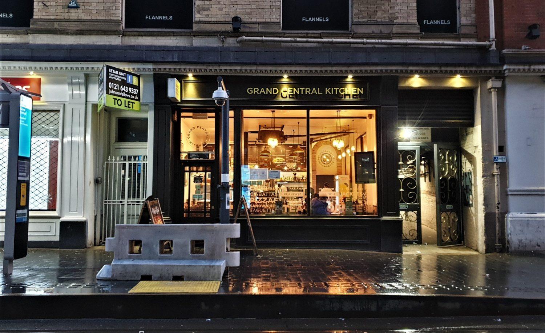 Dove si trova Gran Central Kitchen a Birmingham