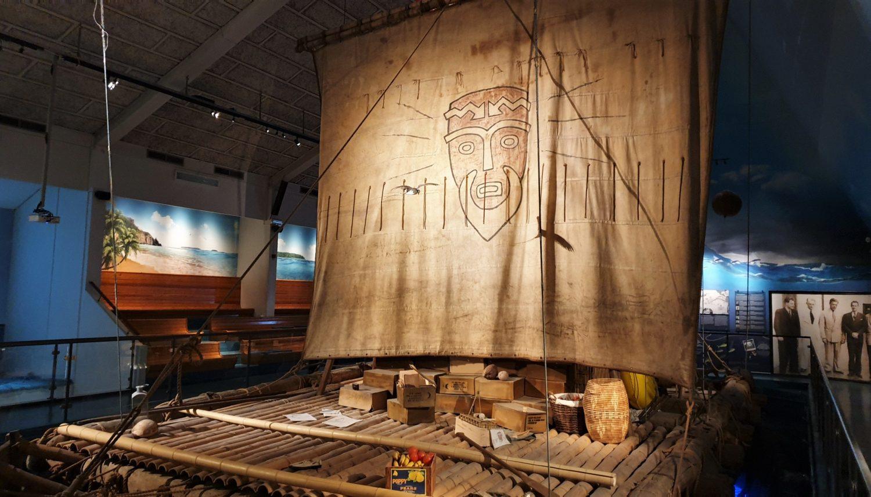 Il Kon Tiki di Thor Heyerdah