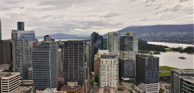 Viaggio in Canada Osservare Vancouver dall'alto