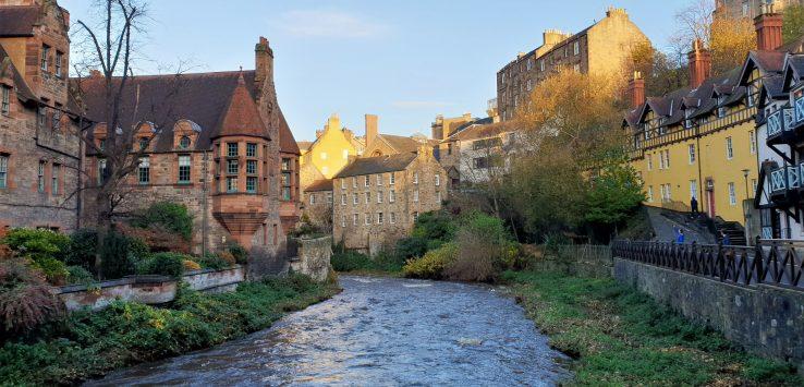 Viaggio in Scozia Visitare il Dean Village di Edimburgo