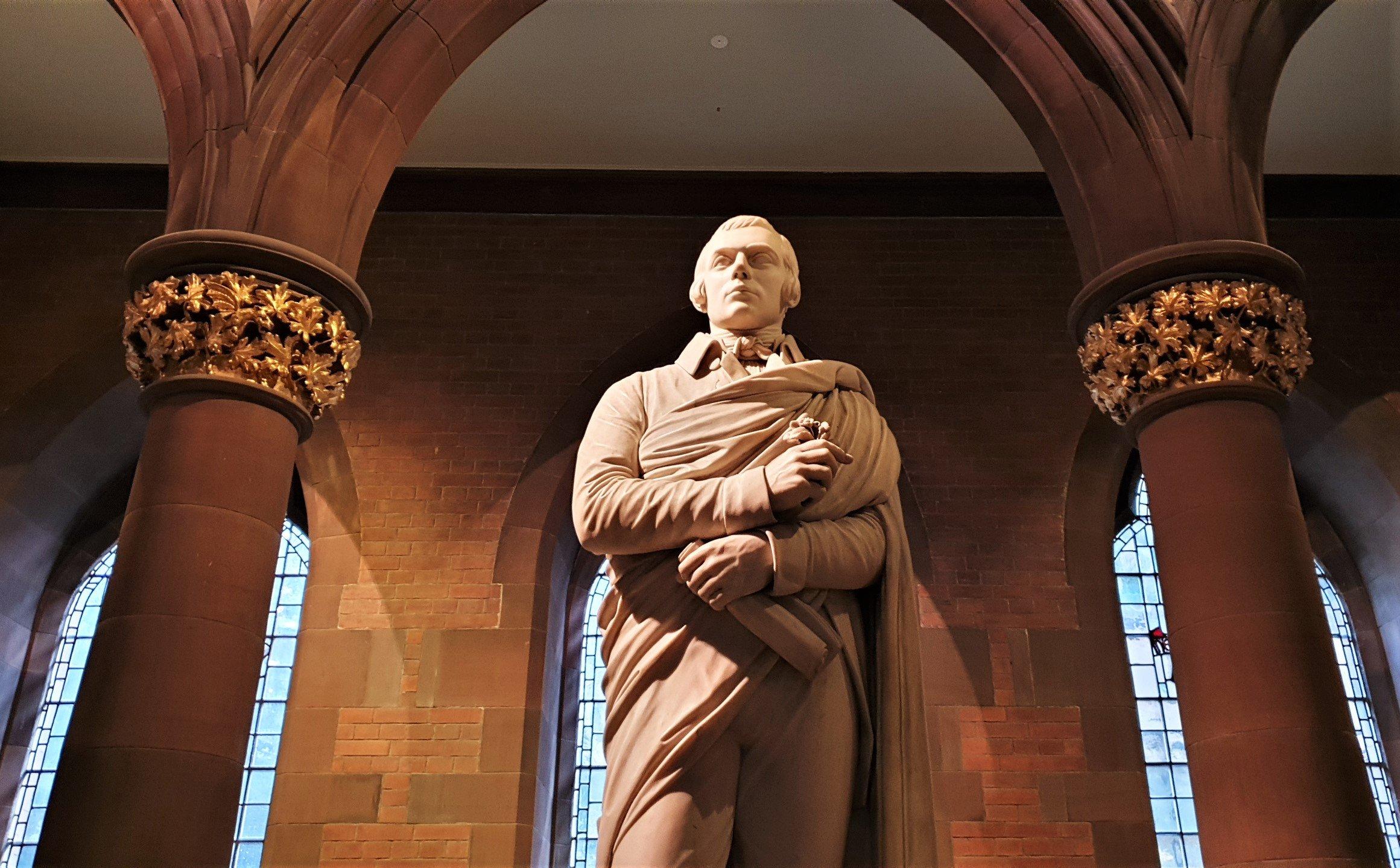 I busti dei grandi di Scozia