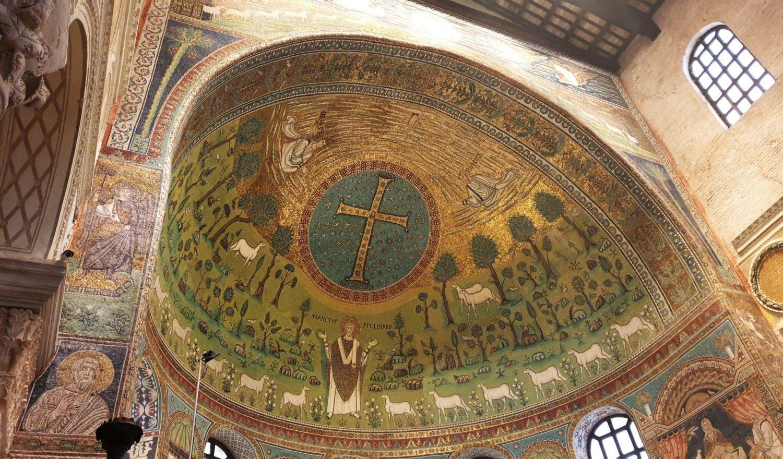 Il mosaico dell'abside