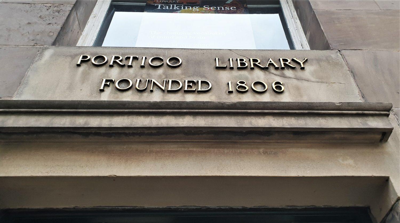 Dove si trova la Portico Library a Manchester