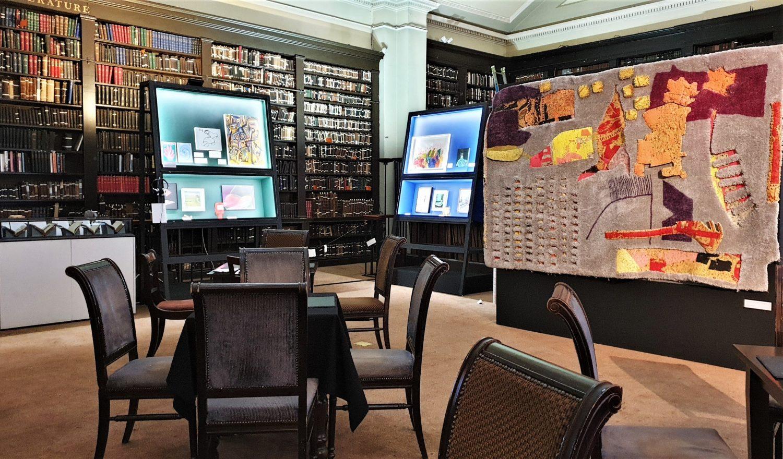La caffetteria della Portico Library