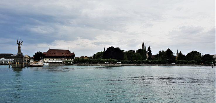Navigare sul Lago di Costanza