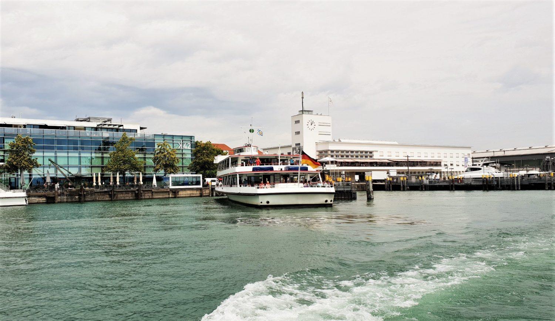 Navigazione sul lago di Costanza Con