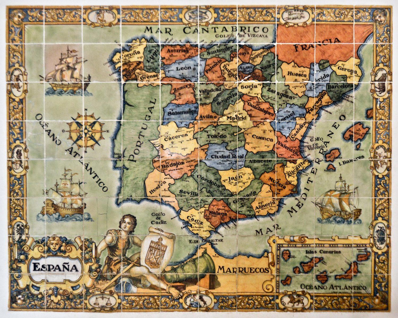 I paesaggi della Spagna