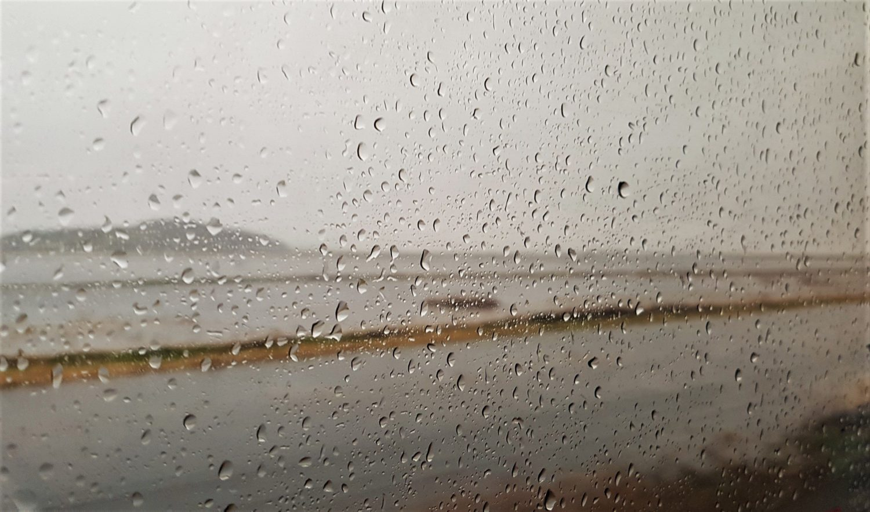 Sometimes it rains in California