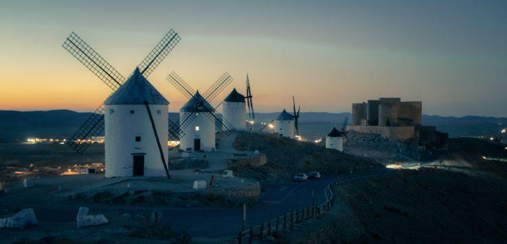 viaggio nei paesaggi della Spagna