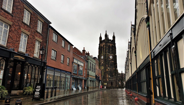 Come raggiungere Stockport da Manchester
