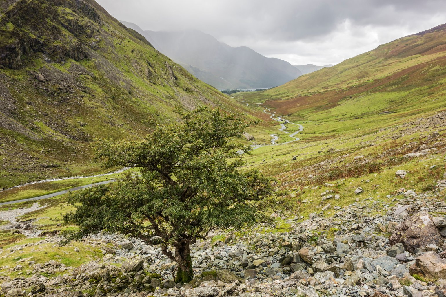 Honister Pass, Borrowdale, England