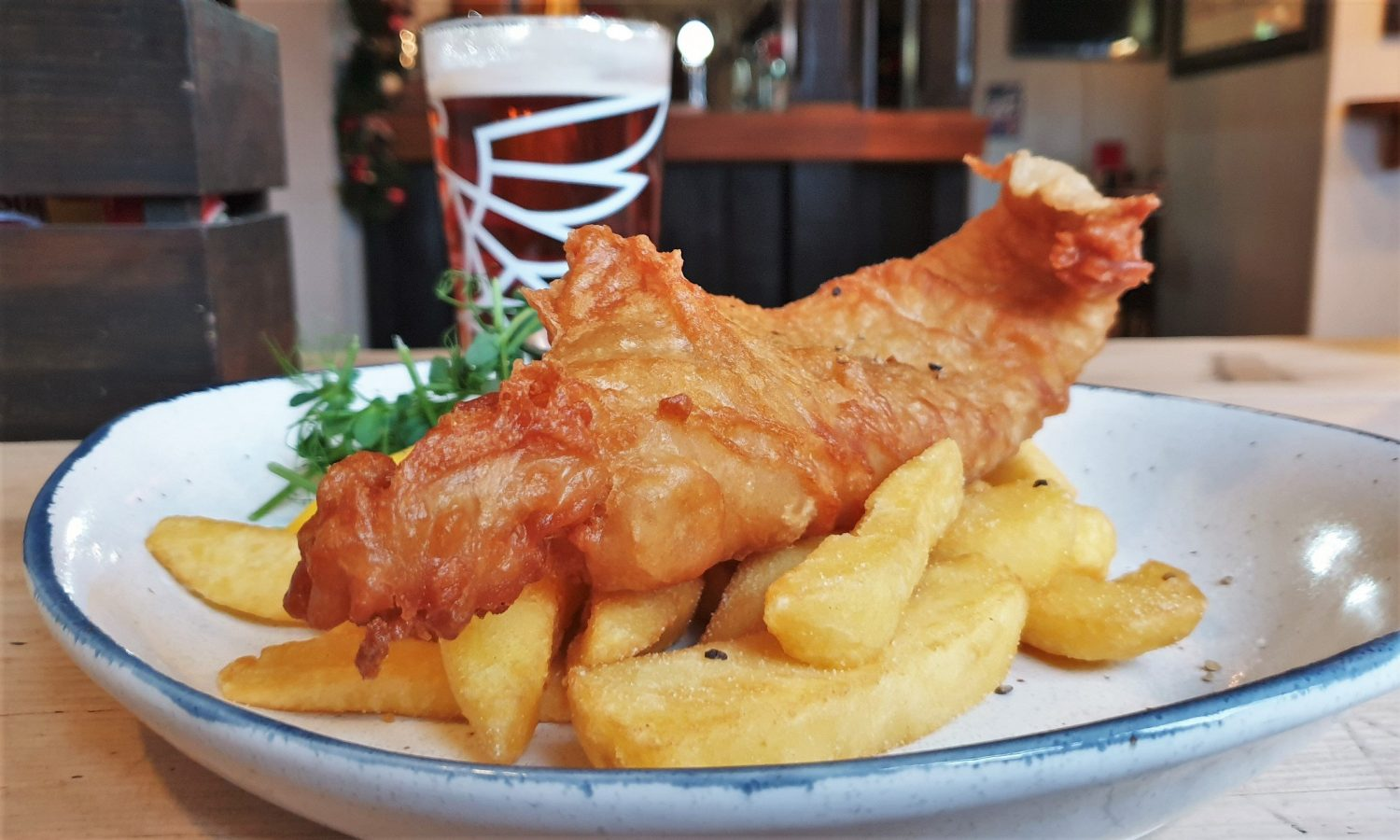 Il fish & chips The Old Crown