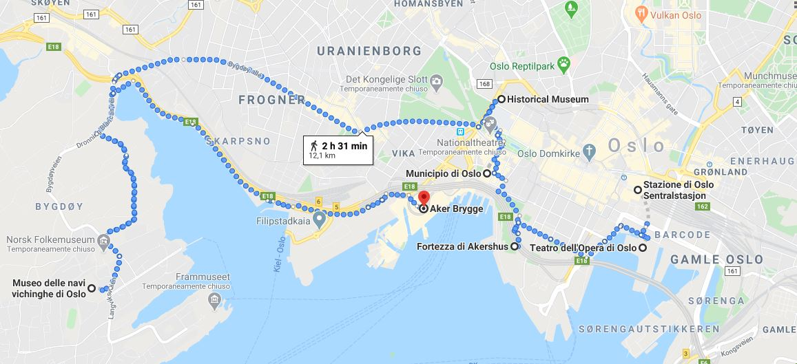Itinerario per scoprire Oslo giorno 1