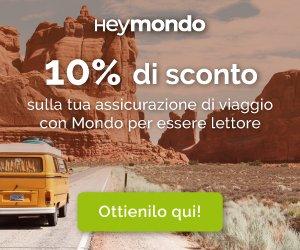 Assicurazione di viaggio Heymondo