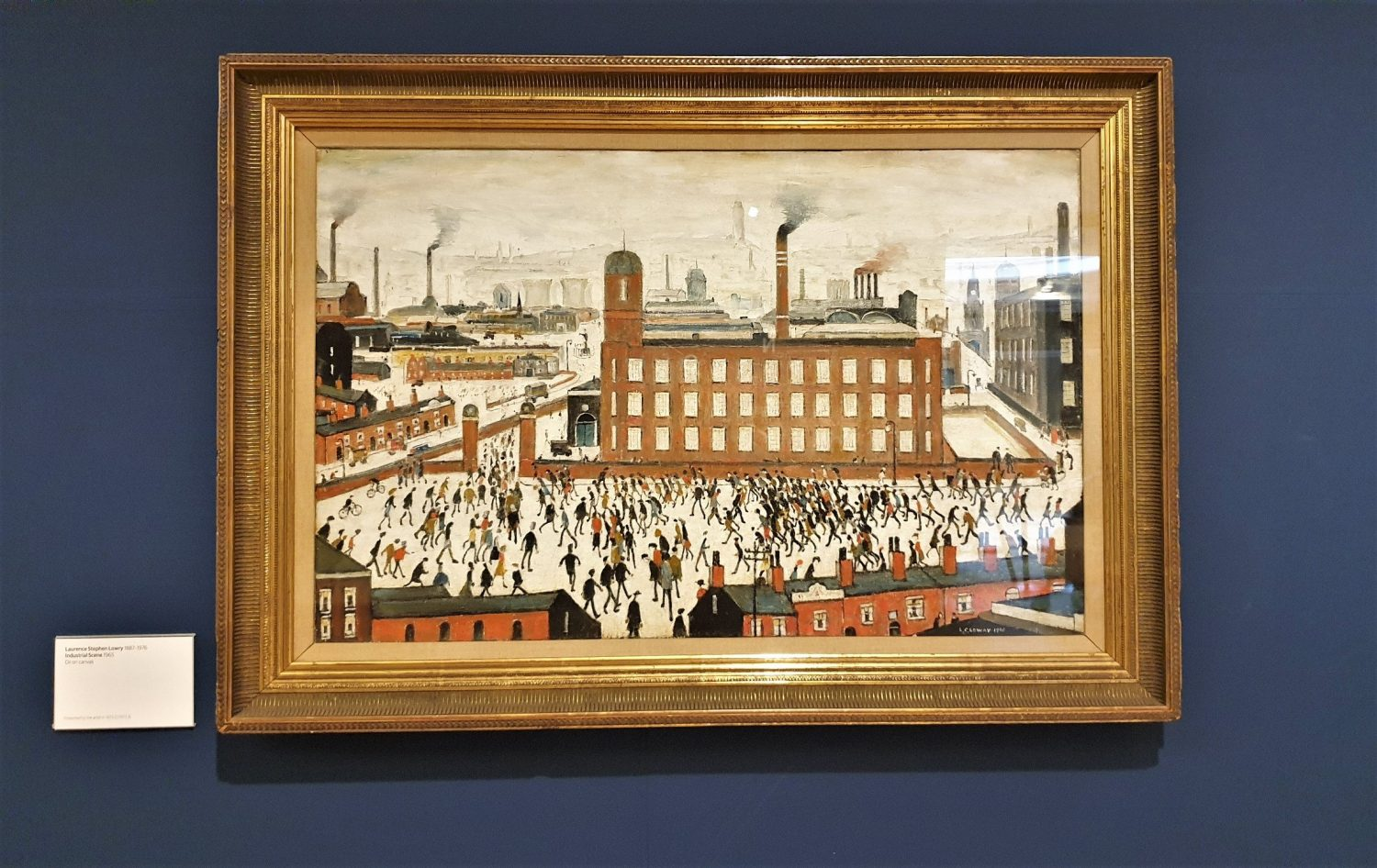 Lowry Whithworth gallery