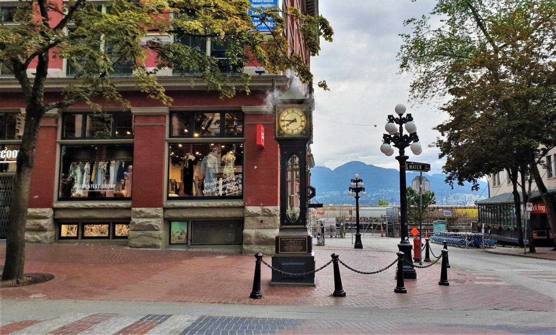 Orologio a vapore Gastown Vancouver