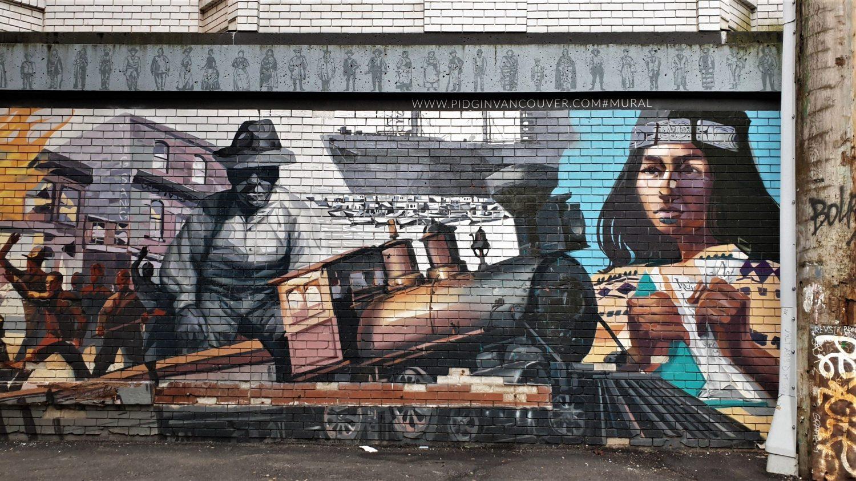 la street art di Gastown