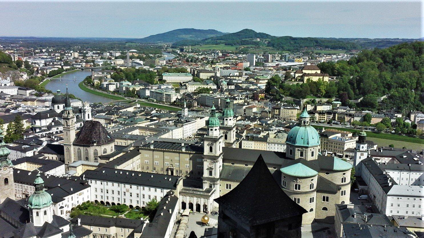 panorama di salisburgo