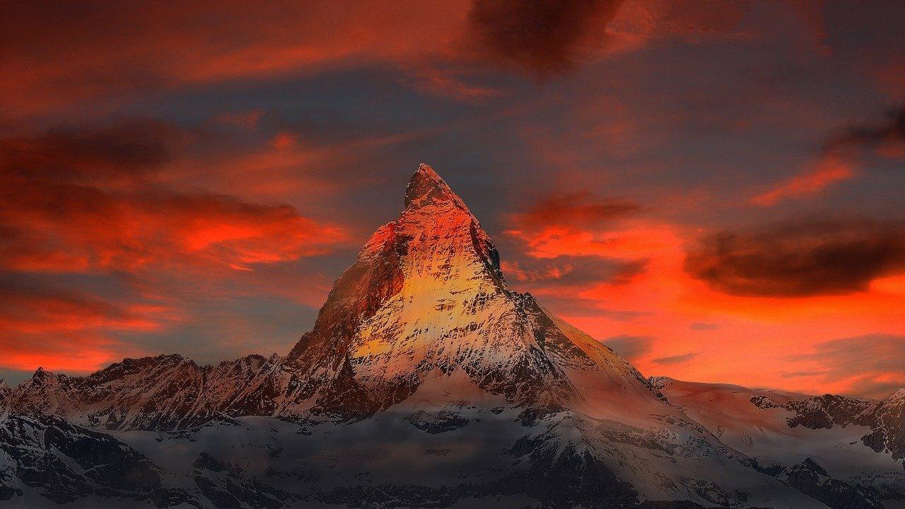 Il Cervino in Svizzera