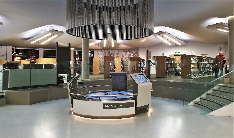 Gli archivi Manchester Central Library
