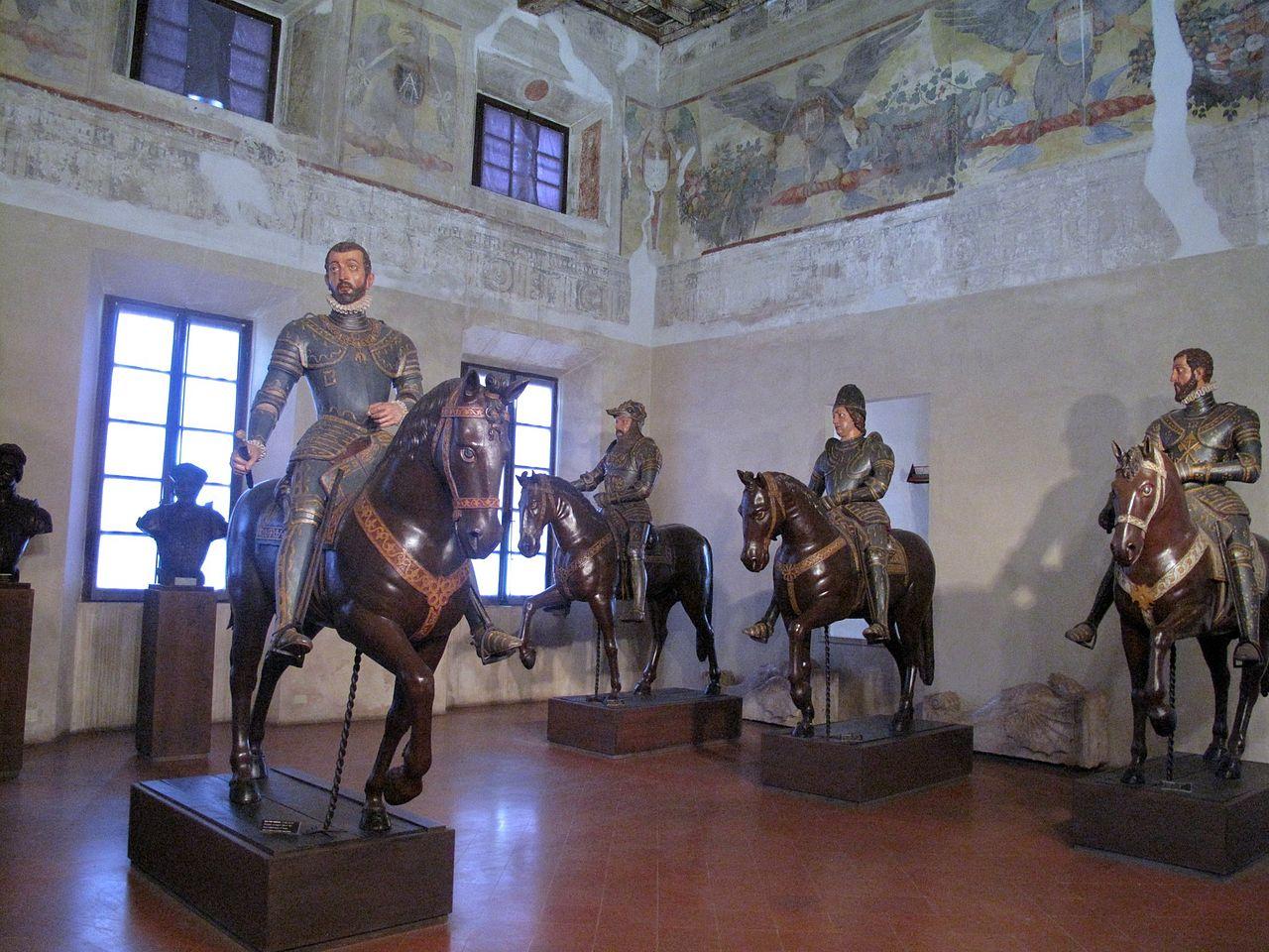 Sabbioneta sala dei Cavalieri
