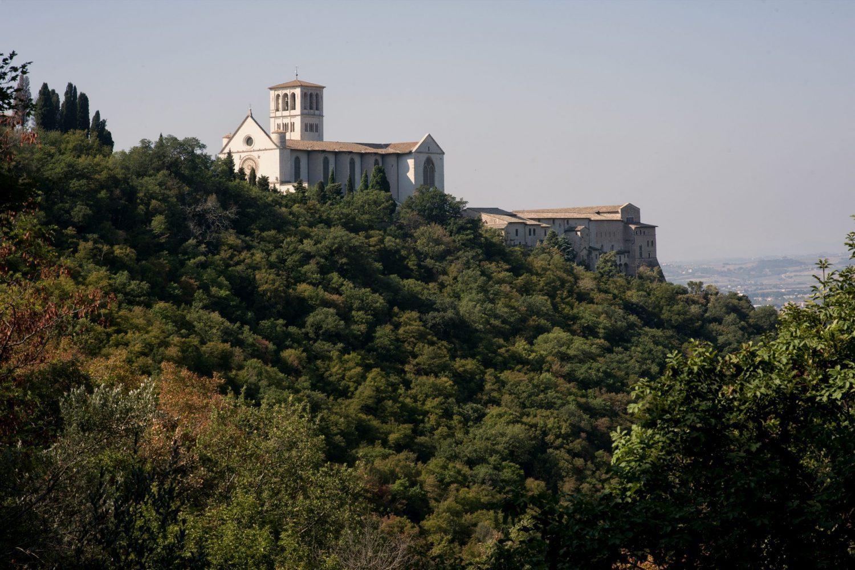 Via di Francesco - Assisi - Basilica e Sacro Convento