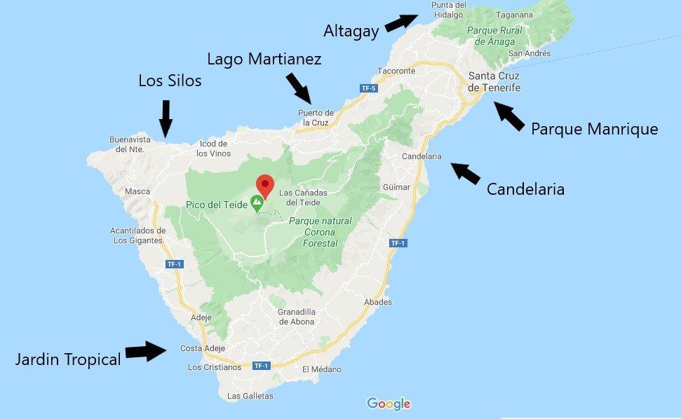 6 piscine a pagamento a Tenerife