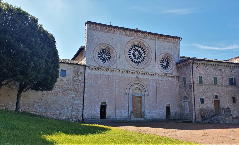 Assisi Chiesa di San Pietro