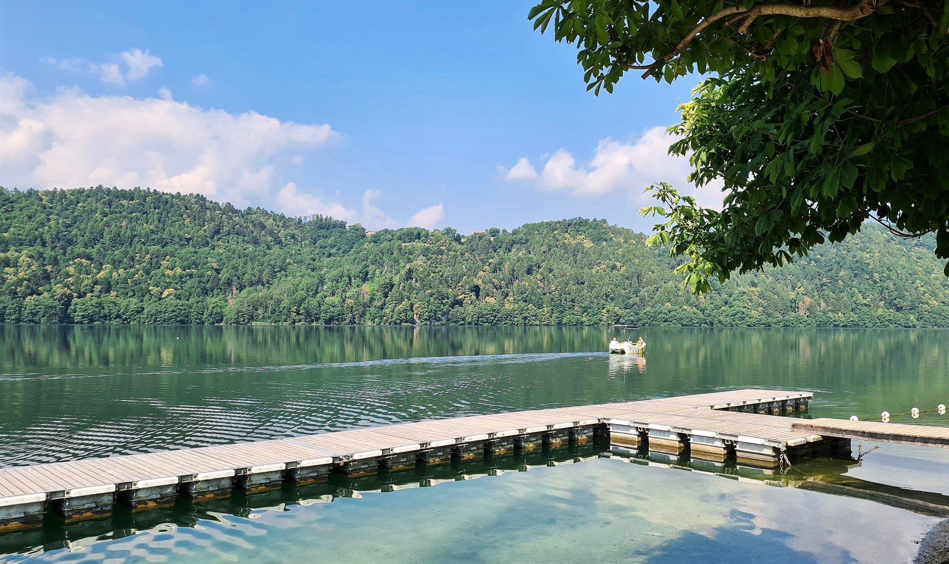 Come raggiungere il Lago di Levico in Trentino