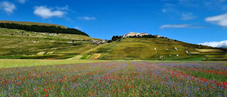Cosa fare in Umbria Visitare la Piana di Castelluccio di Norcia