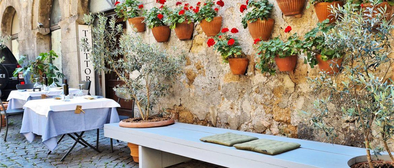 Dove mangiare a Orvieto La Trattoria La Palomba