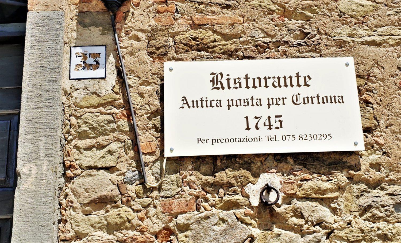 Dove si trova il ristorante antica posta per Cortona