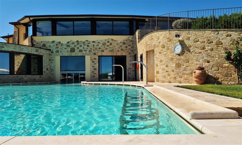 La piscina riscaldata
